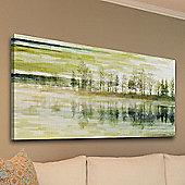 Parvez Taj Tree Canvas Wall Art - 30 cm H x 61 cm W x 5 cm D