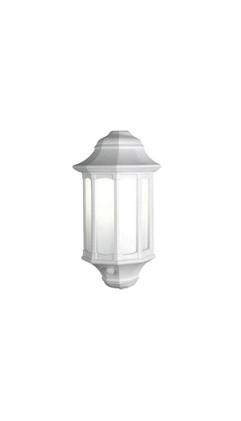 Elstead Lighting Azure 1 Light Outdoor Wall Lantern in White