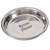 Engraved Stainless Steel Dog Bowl