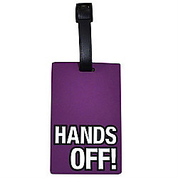 Hands Off! Funky Luggage Tag