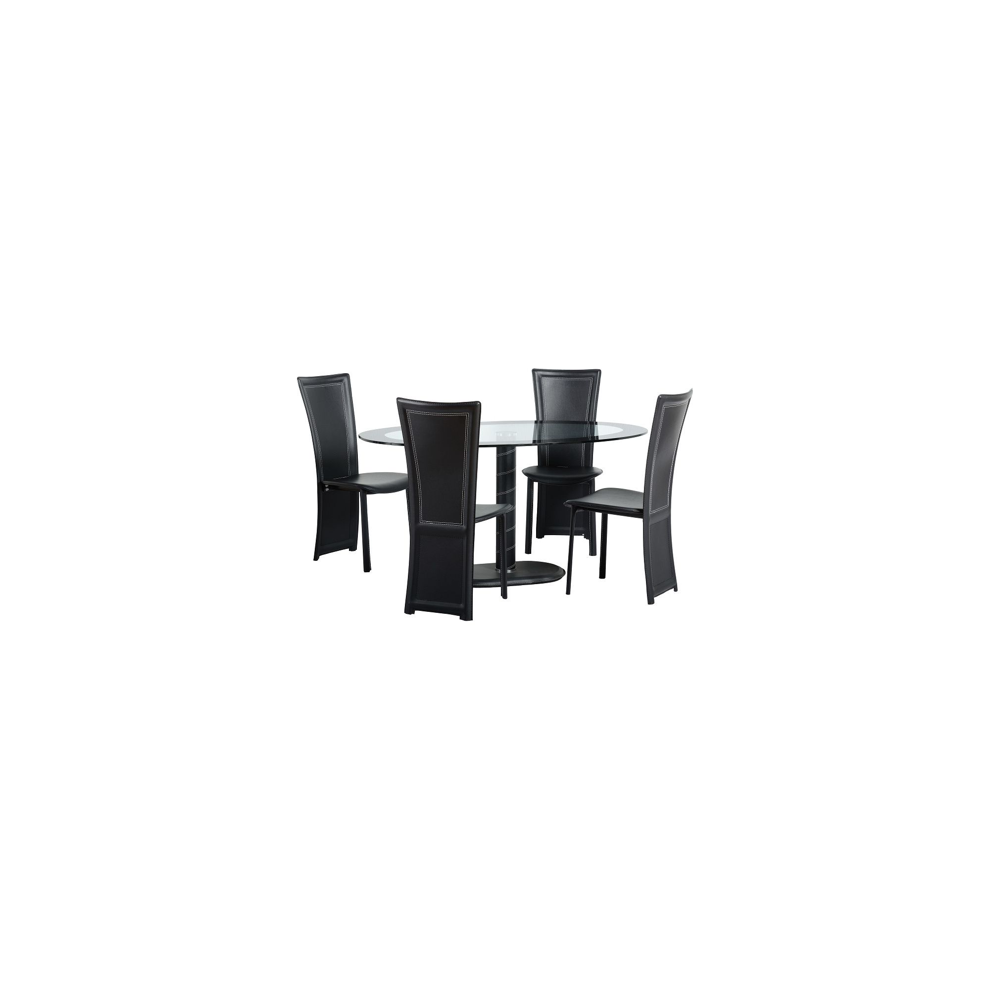 Home Essence Cameo 5 Piece Dining Set at Tesco Direct