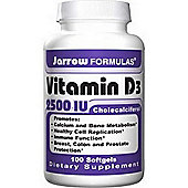 Jarrow Vitamin D3 2500Iu 100 Softgels