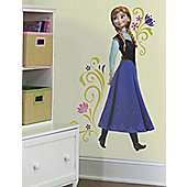 Disney Frozen Anna, 100 cm High Sticker. 18 Pieces