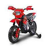 Kids Electric 6V Battery Power Ride On Motorcycle Red