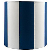 Tesco Blue Stripe Ceiling Shade