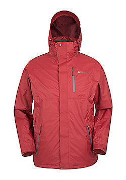 Bracken Extreme 3 in 1 Mens Waterproof Jacket - Red