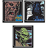 Star Wars Triple Pack Canvas Wall Art
