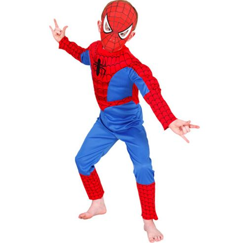 Spider-Man Deluxe - Child Costume 3-4 years