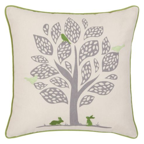 F&F Home Birds In Trees Cushion