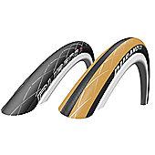 Schwalbe Durano RaceGuard Dual Compound Folding Tyre 20 x 1.10 - Mango