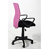 Hispanohogar Office Chair - Pink