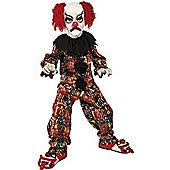 Scary Clown - Child Costume 7-9 years