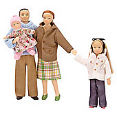 Melissa & Doug Wooden Victorian Doll Family