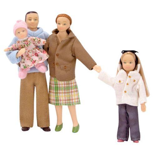 Melissa & Doug Wooden Victorian Doll Family