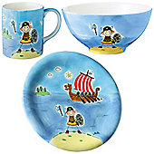Children's Dinner Set - Ole The Viking