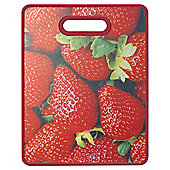 Farberware Strawberry Print Chopping Board Large