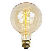 60W ES E27 Vintage Edison Filament Style Globe Bulb