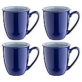 Denby Everyday Mugs, Set of Four, Blueberry