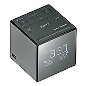 Sony XDRC1DBP DAB/DAB+/ FM Clock Radio, with Sleep Timer, in Black
