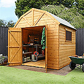 Deluxe Tongue & Groove Dutch Barn Garden Wooden Shed
