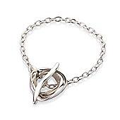 "Sterling Silver - Bracelet - 7.25"" / 18cm"
