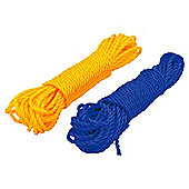 Rolson 15m x 6mm Small Poly Rope