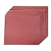 Silverline Aluminium Oxide Hand Sheets 10pk 240 Grit