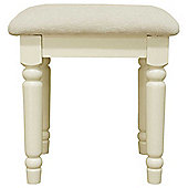 Ultimum Hambleton Off White Dressing Stool