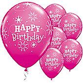 11' Birthday Sparkle (6pk)