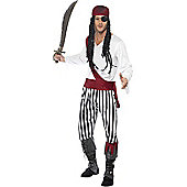 Pirate Man - Adult Costume Size: 42-44