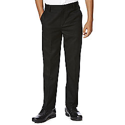 F&F School Boys Flat Front Trousers