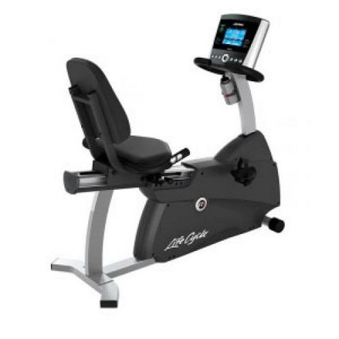 Life Fitness R1 Recumbent Exercise Bike with Go console