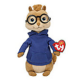 Ty Beanie Baby Alvin And The Chipmunks - Simon Plush Toy