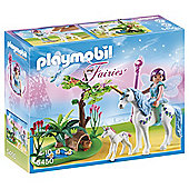 Playmobil Fairy Aquarella in the Unicorn Meadow 5450