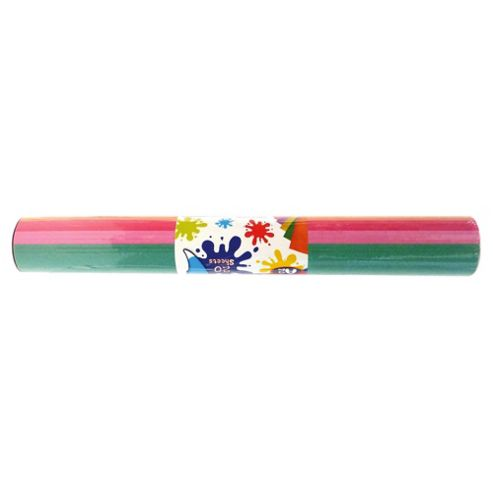 Giant Coloured Sugar Paper Roll