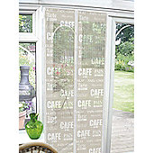 Country Club Insect Guard Magnetic Door Screen 90 x 120cm, Cafe