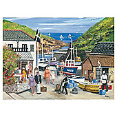 Ravensburger Harbourside Memories 2 X 500 Piece Nostalgic Jigsaw Puzzles