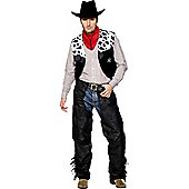 Cowboy Leathers - Adult Costume Size: 38-40