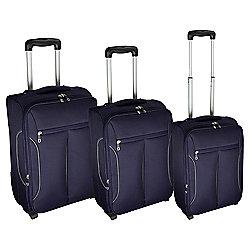 Tesco Lightest Purple/Grey 3pc set