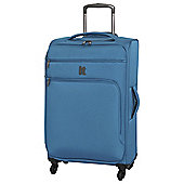 IT Luggage Megalite 4-Wheel Medium Teal Suitcase