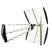 Tri-Fold 43-Element High-Gain Digital TV Aerial