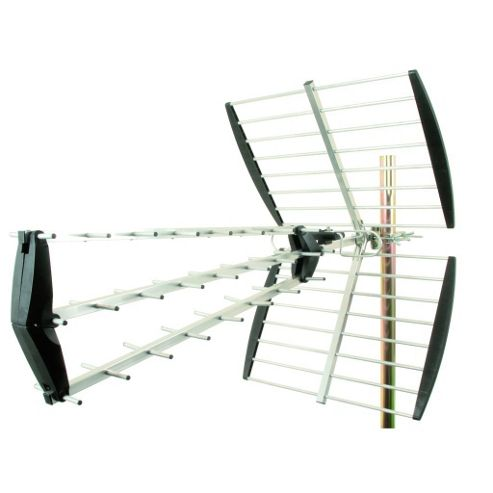 Tri-Fold 43-Element High-Gain Digital TV Aerial