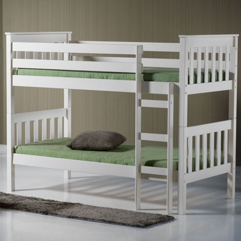 Seattle Bunk Bed - White