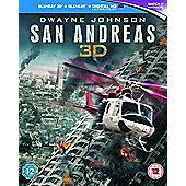 San Andreas 3D Blu-ray