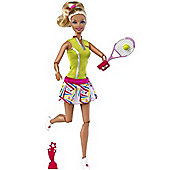 Barbie I Can Be Tennis Player Champion Doll