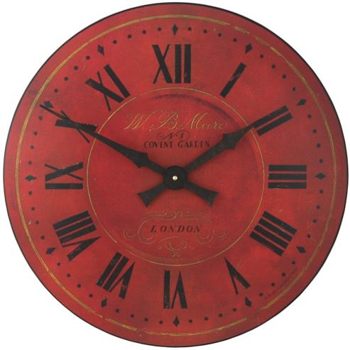 Roger Lascelles Clocks Large Covent Garden Wall Clock