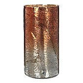 Linea Landscape Metallic Weathered Vase, Large