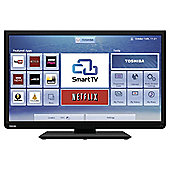 Toshiba 32W3453DB 32 Inch Smart WiFi Built In HD Ready 720p LED TV with Freeview HD