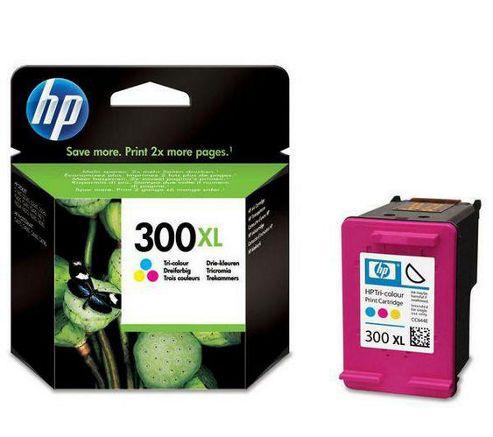 Hewlett-Packard CC644EE Colour No.300XL Inkjet Print Cartridges