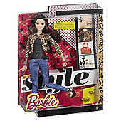 Barbie Raquelle Style Leopard Jacket Doll